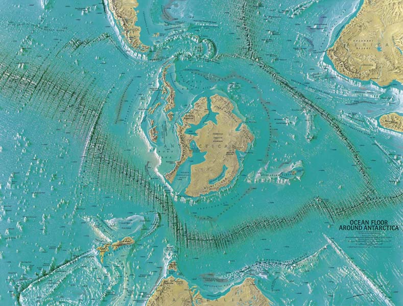 The Hollow Earth Maps Of The Third Reich There Is An Entrance To - National geographic world satellite map