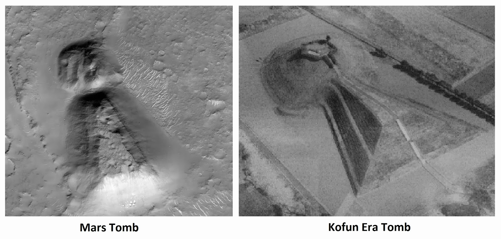 You Won't Believe Everything UFOHunters Found On Mars Mars-tomb-kofun-japan