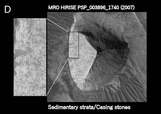 Artificial structure on Mars—three-sided Pyramid—verified in Science Journal Mars-Pyramid-4