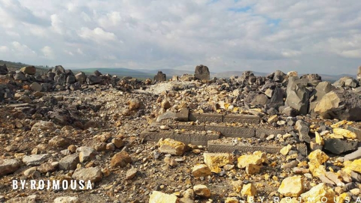 3,000-year-old Ain Dara Temple In Syria Destroyed By Turkish Airstrikes