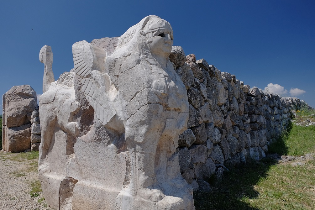 The Ancient City Of Hattusa; Home To The Mysterious Green Rock Sphinx-Gate