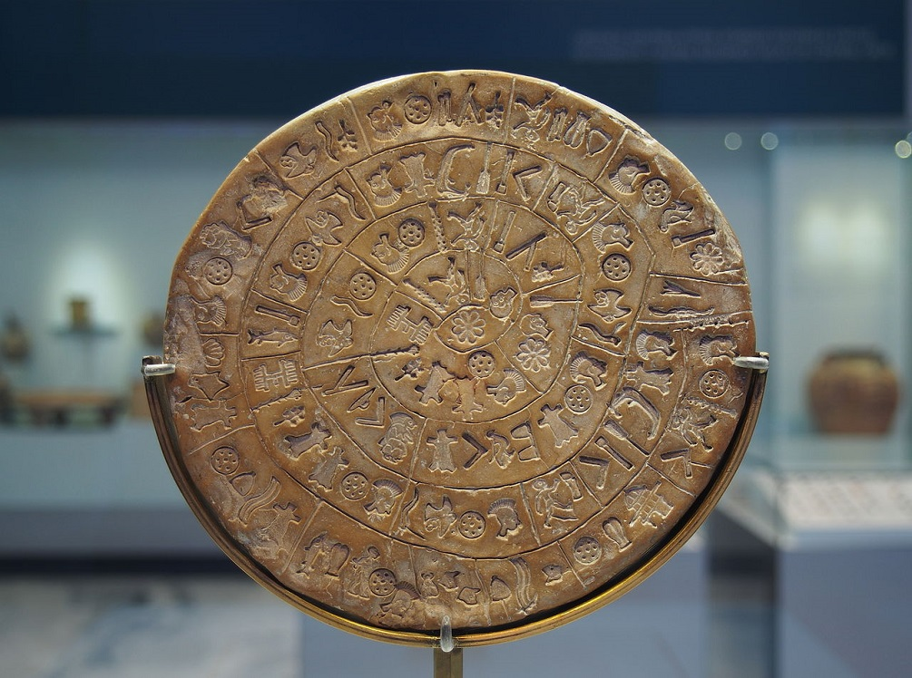 The Enigma Of The Phaistos Disk, A 3,700-Year-Old Indecipherable Message _της_Φαιστού_πλευρά_Α_6380