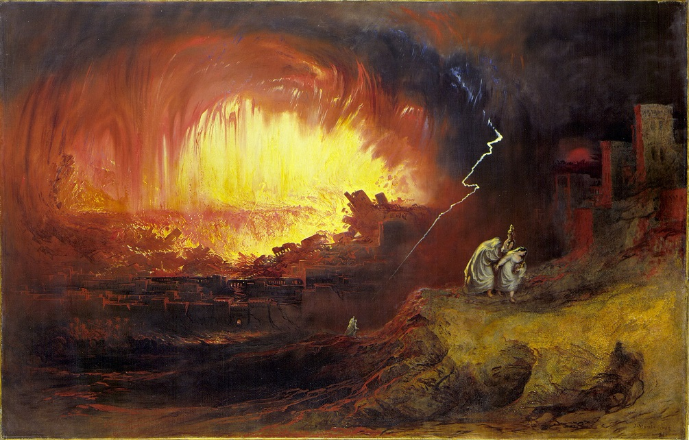 A Mystery In History: When God Made Burning Sulfur Destroy Sodom And Gomorrah