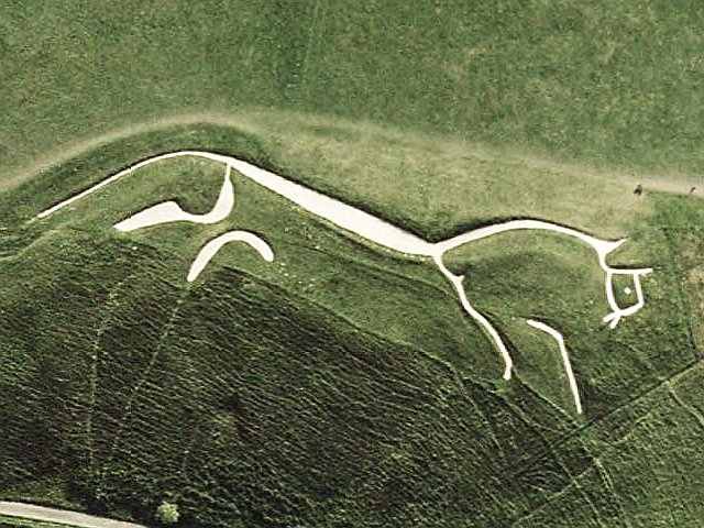 Mystery Glyphs: Uffington's White Horse, A 3,000-Year-Old Masterpiece Uffington-White-Horse-sat