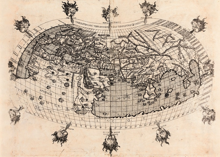 These Are The Rare Ancient Maps, Used By Ancient Explorers To Travel The Earth