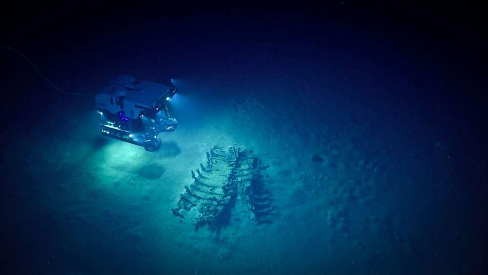 Underwater Drones Are Exploring Shipwrecks Below The Gulf Of Mexico—And What They've Found Is Incredible Ancient-Shipwrecks-Gulf-of-Mexico