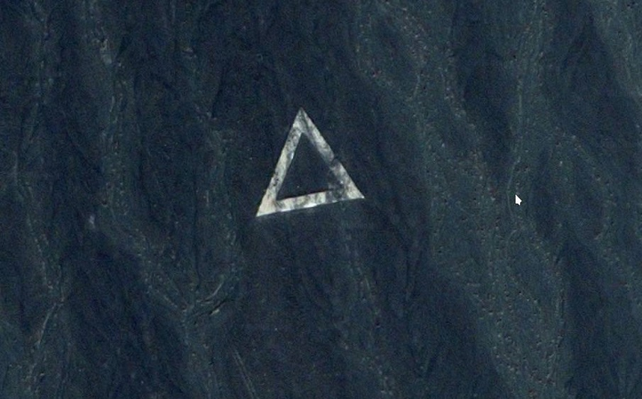 18 Mysterious Satellite Images Spark Debate About Alien Symbols And
