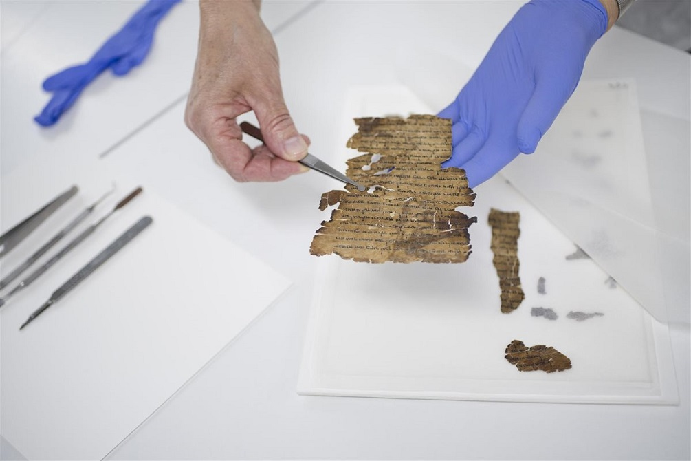 NASA Technology Helps Reveal Hidden Texts On Dead Sea Scrolls In Stunning Discovery Image-Credit-Shai-Halevi-Israel-Antiquities-Authority