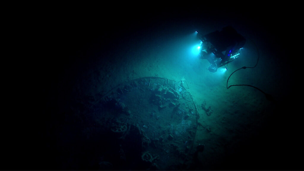 Underwater Drones Are Exploring Shipwrecks Below The Gulf Of Mexico—And What They've Found Is Incredible Unidentified-Shipwreck-2-1024x576