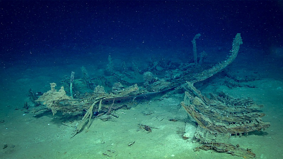 Underwater Drones Are Exploring Shipwrecks Below The Gulf Of Mexico—And What They've Found Is Incredible Unidentified-Shipwreck